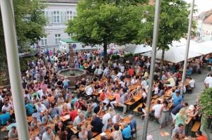 Foto vom Dachauer Altstadtfest 2014